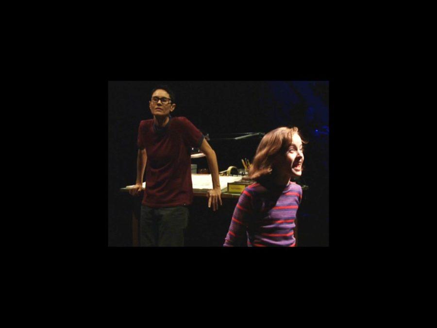 VS - Fun Home Broll - 4/15 -  Beth Malone and Sydney Lucas