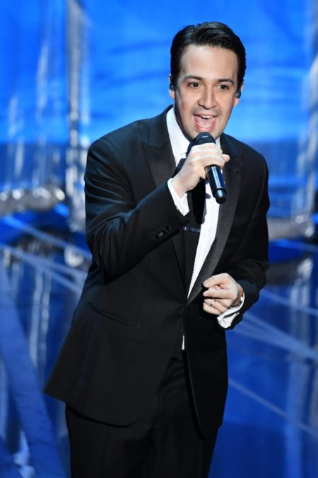 Lin-Manuel Miranda - Oscars - Annual Academy Awards - 2/17 - Kevin Winter/Getty Images
