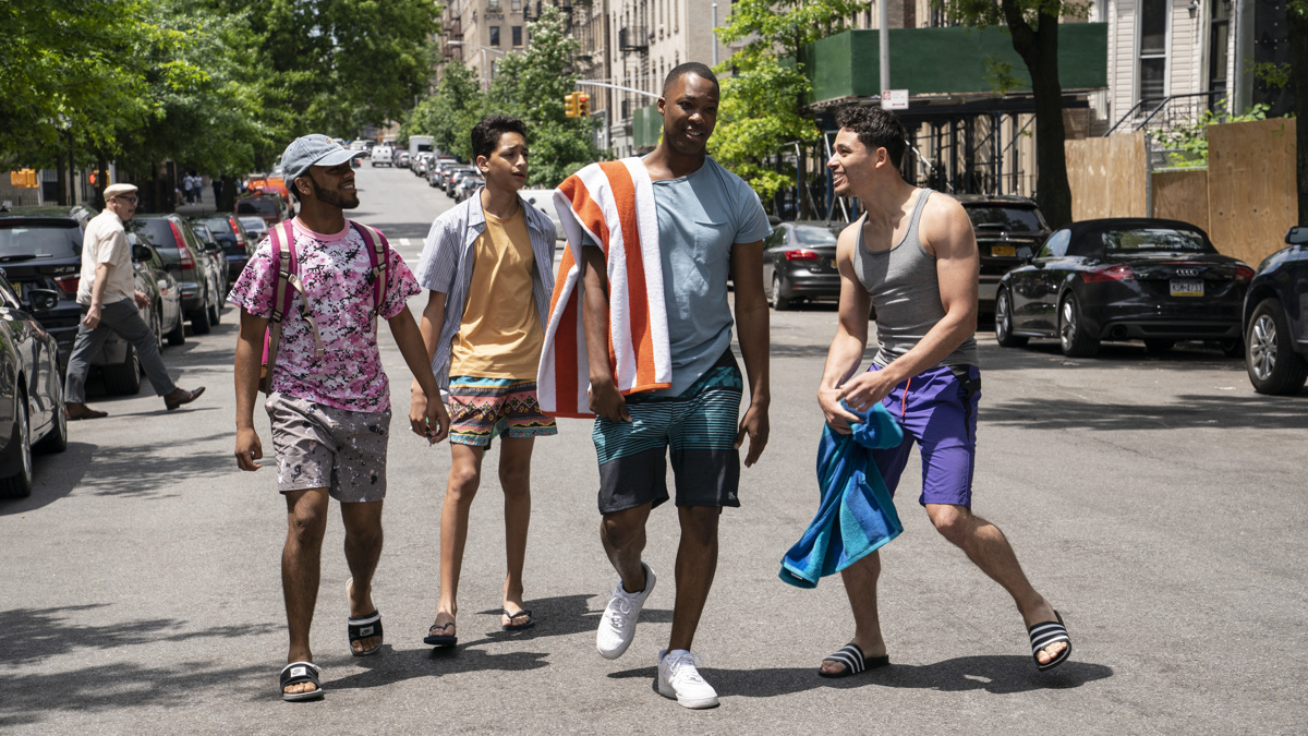 In the Heights Film - Noah Catala - Gregory Diaz IV - Corey Hawkins - Anthony Ramos - 4/21 - Macall Polay