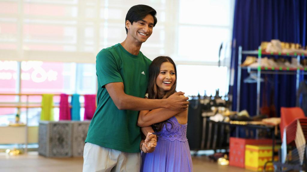 5_Michael Maliakel and Shoba Narayan Aladdin reopening rehearsal_photo by Curtis Brown